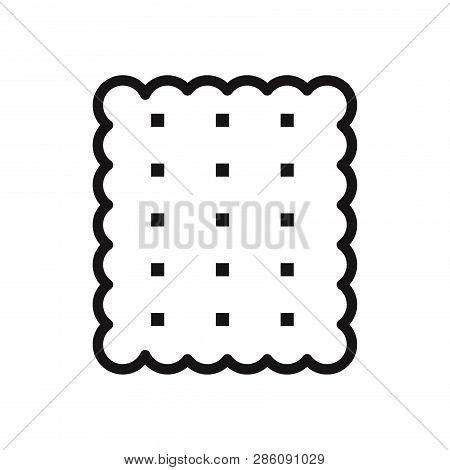 Cracker Icon Isolated On White Background. Cracker Icon In Trendy Design Style. Cracker Vector Icon