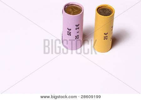 Roll Of Coins Packed