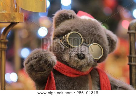 Christmas Decorations In The Streets In 2015 At Hong Kong,
