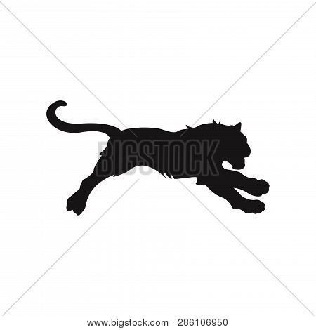 Tiger Icon Isolated On White Background. Tiger Icon In Trendy Design Style. Tiger Vector Icon Modern