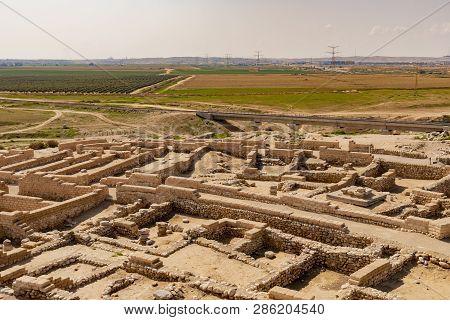 Tel Be'er Sheva Archeological Site, Israel