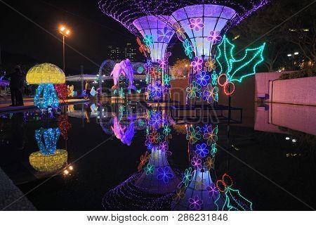 Sha Tin Festive Lighting 2016