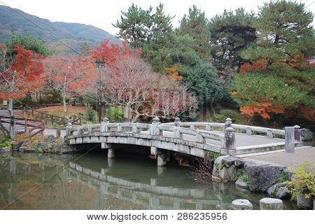 The Peaceful Japanese Zen Garden With Pond