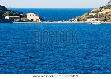 Enfola bay near Biodola Isle of Elba Livorno Italy. poster