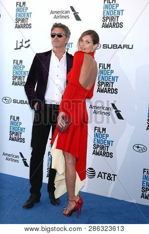 LOS ANGELES - FEB 23:  Pawe? Pawlikowski, Malgorzata Bela at the 2019 Film Independent Spirit Awards on the Beach on February 23, 2019 in Santa Monica, CA