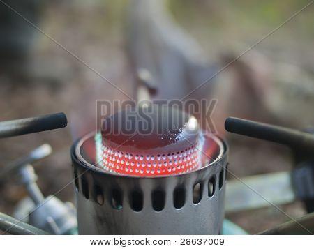The Gas Burner.