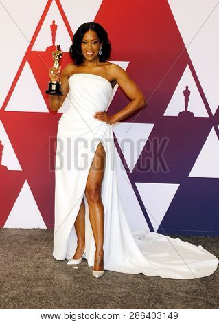Regina King at the 91st Annual Academy Awards - Press Room held at the Hollywood and Highland in Los Angeles, USA on February 24, 2019.