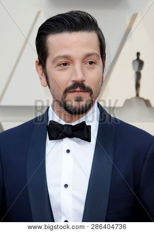 Diego Luna at the 91st Annual Academy Awards held at the Hollywood and Highland in Los Angeles, USA on February 24, 2019.