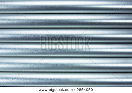 Aluminium Tubes Background