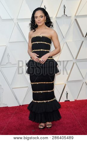 Tessa Thompson at the 91st Annual Academy Awards held at the Hollywood and Highland in Los Angeles, USA on February 24, 2019.