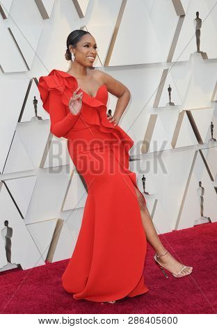 Jennifer Hudson at the 91st Annual Academy Awards held at the Hollywood and Highland in Los Angeles, USA on February 24, 2019.