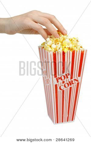 Having Some Popcorn - Small Container