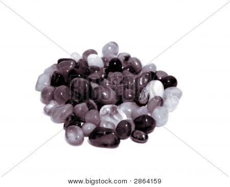 Black And White Stones