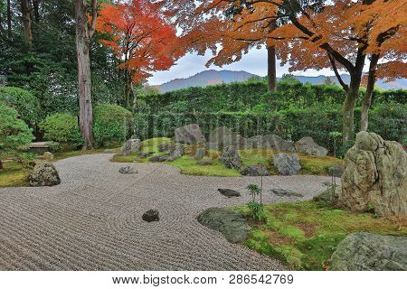 Autumn In The Shinnyo Do Temple In Kyoto  Travel At Japan