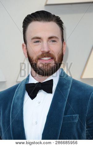 Chris Evans at the 91st Annual Academy Awards held at the Hollywood and Highland in Los Angeles, USA on February 24, 2019.