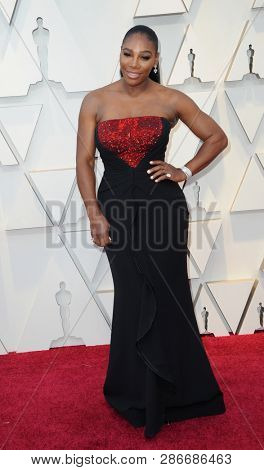 Serena Williams at the 91st Annual Academy Awards held at the Hollywood and Highland in Los Angeles, USA on February 24, 2019.