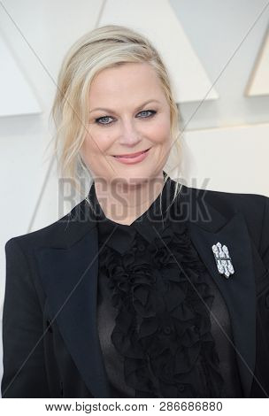 Amy Poehler at the 91st Annual Academy Awards held at the Hollywood and Highland in Los Angeles, USA on February 24, 2019.