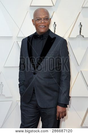 Samuel L. Jackson at the 91st Annual Academy Awards held at the Hollywood and Highland in Los Angeles, USA on February 24, 2019.