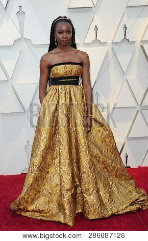 Danai Gurira at the 91st Annual Academy Awards held at the Hollywood and Highland in Los Angeles, USA on February 24, 2019.