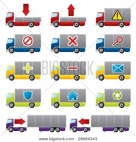 Truck Icons For The Web