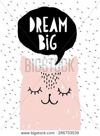 Dream Big Funny Vector & Photo (Free Trial) Bigstock  Bigstock