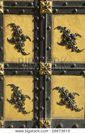 Decorative Bavarian door