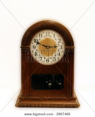 Wood Orton Bracket Clock