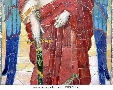 Mosaic Of St. Michael The Archangel