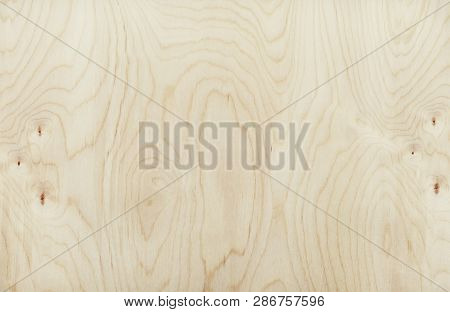 Plywood Texture. Wooden Background From Plywood Sheet.