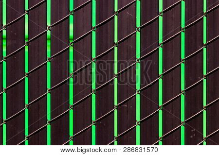 Steel Metal Repeating Pattern Texture Of Iron Aluminum Like Materials