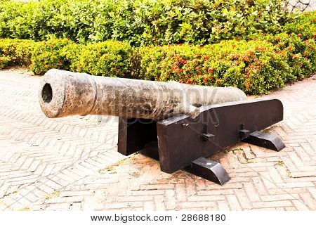 Ancient Cannons.