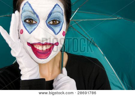 Excited Clown