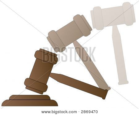 Gavel With Motion