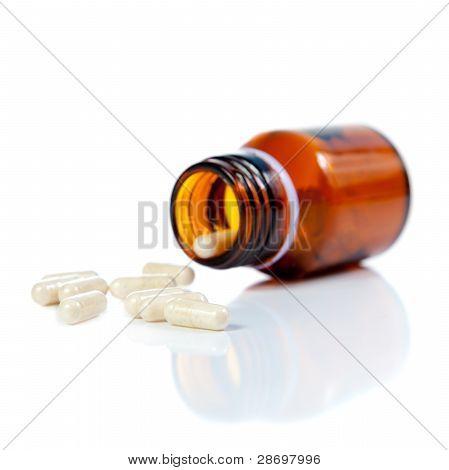 Open A Bottle Of Spilled Pills