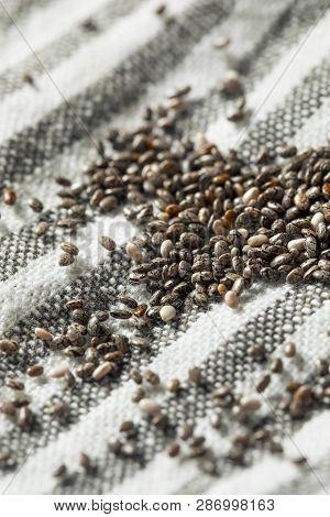 Raw Organic Black Chia Seeds