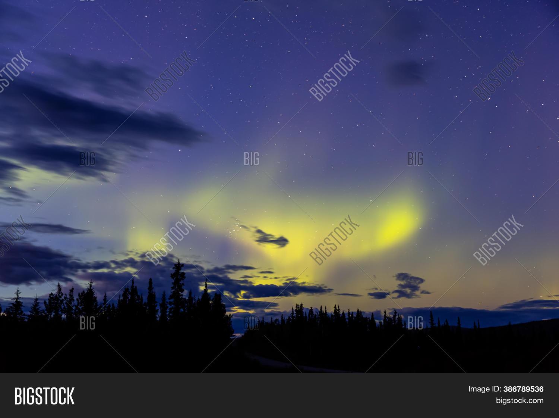 Northern Lights Image Photo Free Trial Bigstock