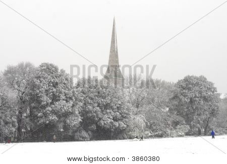 Snow And Spire
