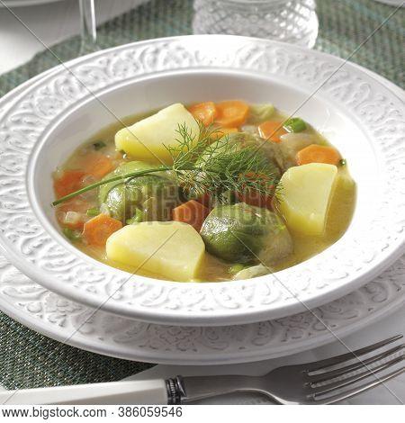 Artichokes A La Polita Is A Delicious Traditional Greek Vegan Dish.