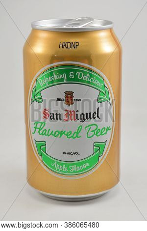 Manila, Ph - Sept 10 - San Miguel Flavored Beer Apple Flavor On September 10, 2020 In Manila, Philip