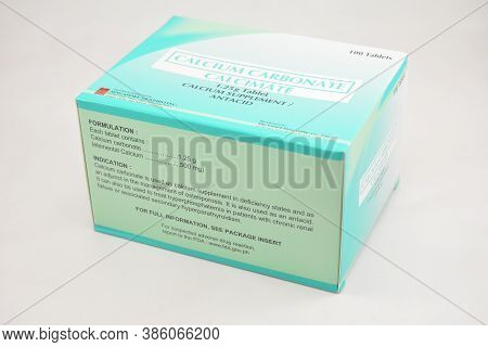 Manila, Ph - Sept 10 - Calcium Carbonate Calcimate Supplement Box On September 10, 2020 In Manila, P