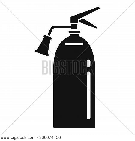 Fire Extinguisher Protection Icon. Simple Illustration Of Fire Extinguisher Protection Vector Icon F
