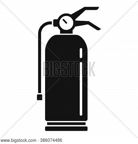 Fire Extinguisher Tool Icon. Simple Illustration Of Fire Extinguisher Tool Vector Icon For Web Desig