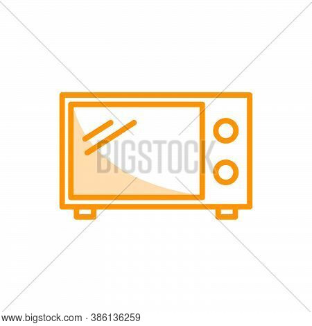 Illustration Vector Graphic Of Microwave Icon Template