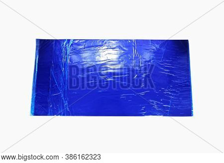 Blue Multilayer Disposable Sticky Dust Removal Mat. Using In Hospital Operation Theater For Decontam