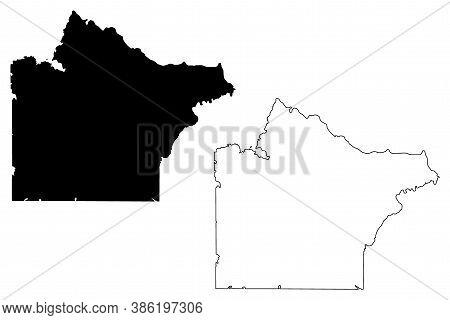 Wright County, Minnesota (u.s. County, United States Of America, Usa, U.s., Us) Map Vector Illustrat