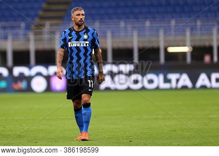 Milano, Italy. 19th September 2020. Friendly Match.  Fc Internazionale Vs Pisa Uc. Yann Karamoh Of F