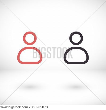 Man Icon . Vector Man . Illustration Man . 10 Eps Man . Simple Image Man