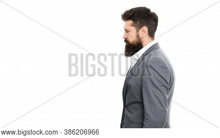 Fashion Is Freedom. Confident Businessman. Formal Fashion. Bearded Man Hipster In Jacket. Business S