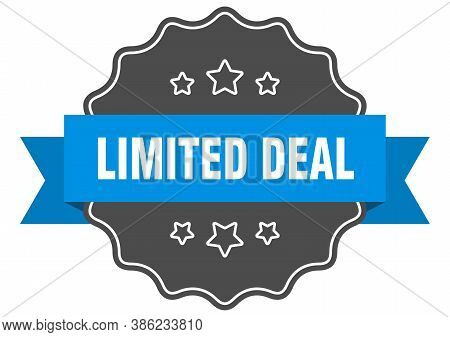 Limited Deal Label. Limited Deal Isolated Seal. Sticker. Sign
