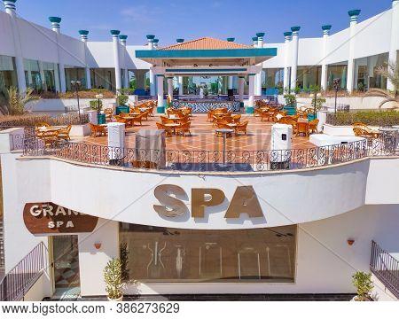 Sharm El Sheikh, Egypt - September 14, 2020: Hotel Siva Sharm, Ex Savita Resort, 5 Stars At Sharm El